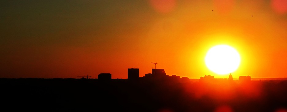 Downtown Boise Sunset1