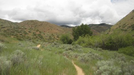 Boise Foothills Loop Hike Gulch, Watchman, Three Bears 3