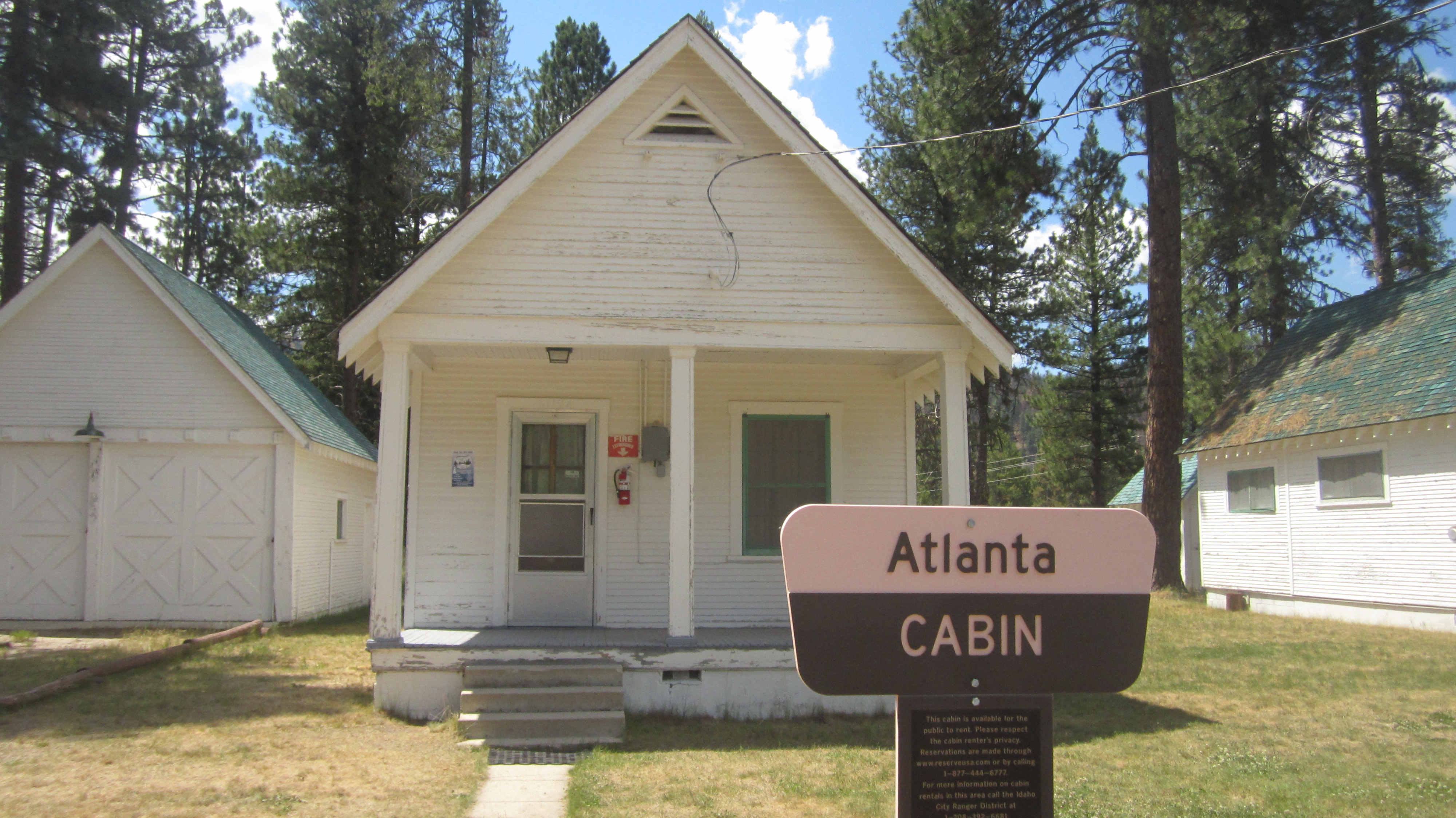 atlanta idaho cabins and locals the world of a kevin