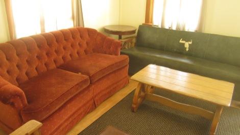 The Atlanta Cabin Idaho Living Room
