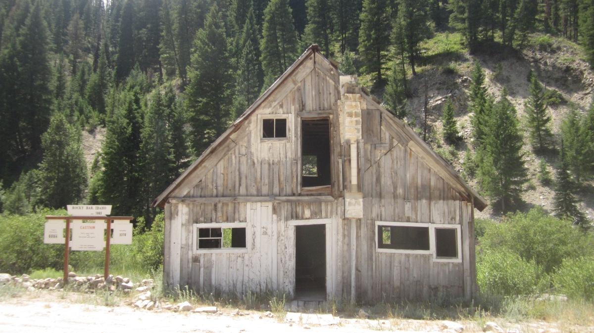 Rocky Bar Ghost Town Idaho